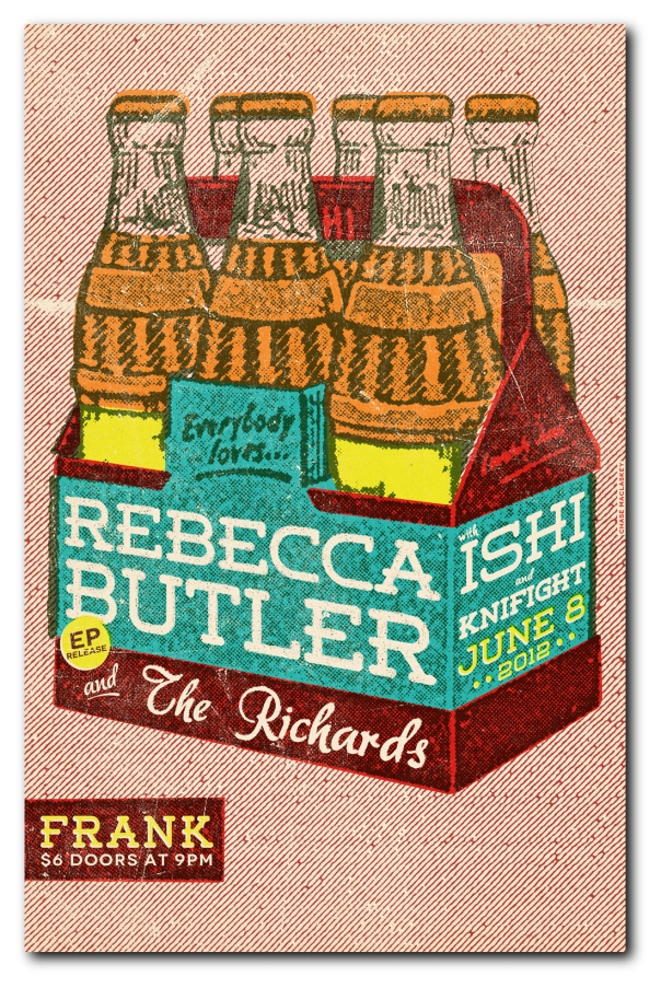 Rebecca Butler and the Richards poster